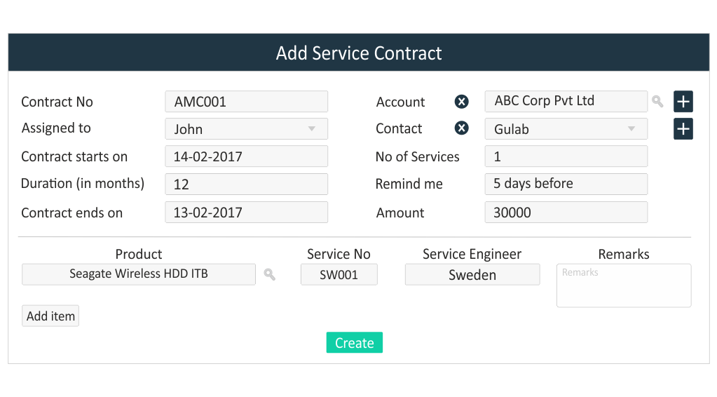 RabbitCRM_Ticket_AMC_for_service_CRM